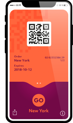 Go New York mobile pass