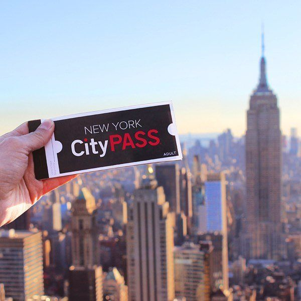 New York Citypass devant le World Trade CEnter